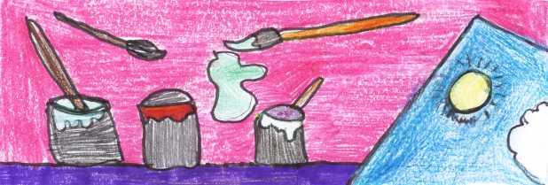 Disegno E Giochi Con Colori Per Bambini Delle Scuole Elementari